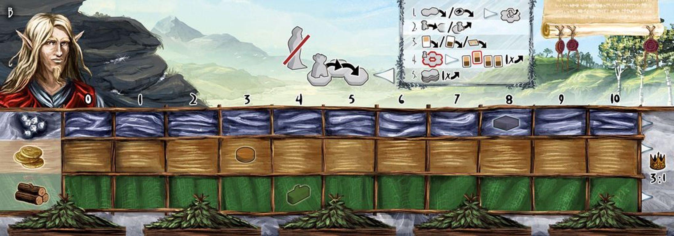 Pandoria game board