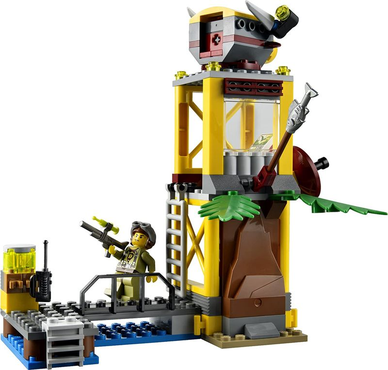 LEGO® Dino Pteranodon Tower components