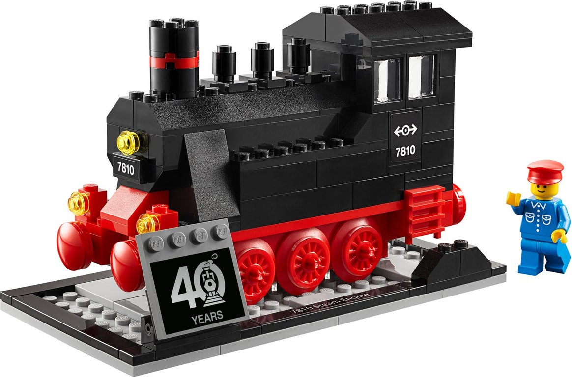 LEGO® Promotions Iconic Steam Engine (40 Years of LEGO Trains) components