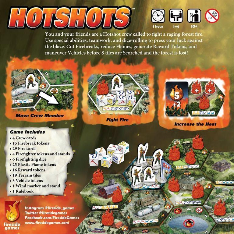 Hotshots back of the box