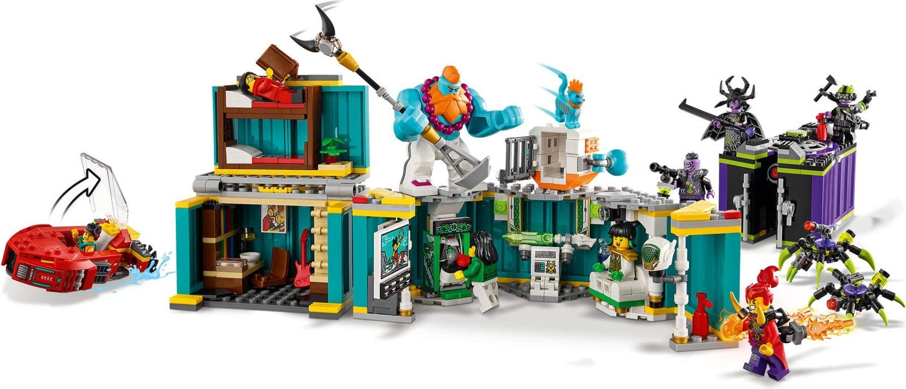 LEGO® Monkie Kid Monkie Kid's Team Dronecopter back side