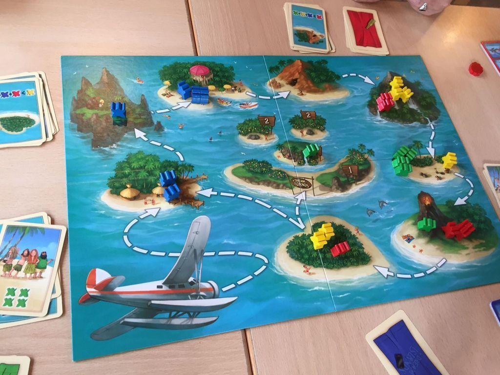 Dream Islands gameplay