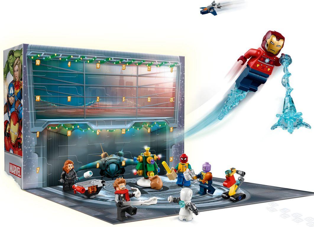 LEGO® Marvel Avengers Advent Calendar 2021 components