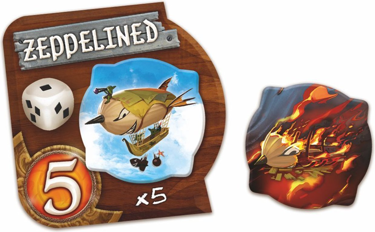 Small World: Sky Islands components