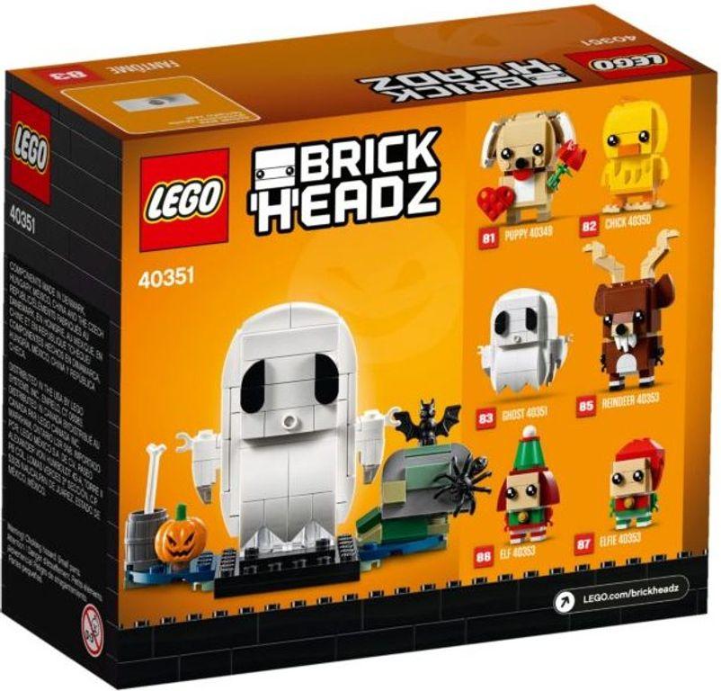 LEGO® BrickHeadz™ Halloween Ghost back of the box