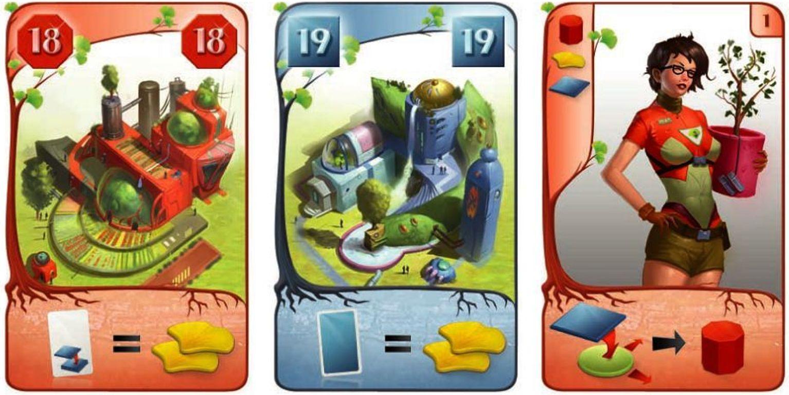 Ginkgopolis cards