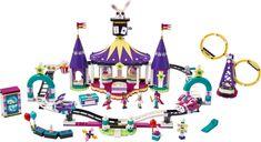 LEGO® Friends Magical Funfair Roller Coaster components