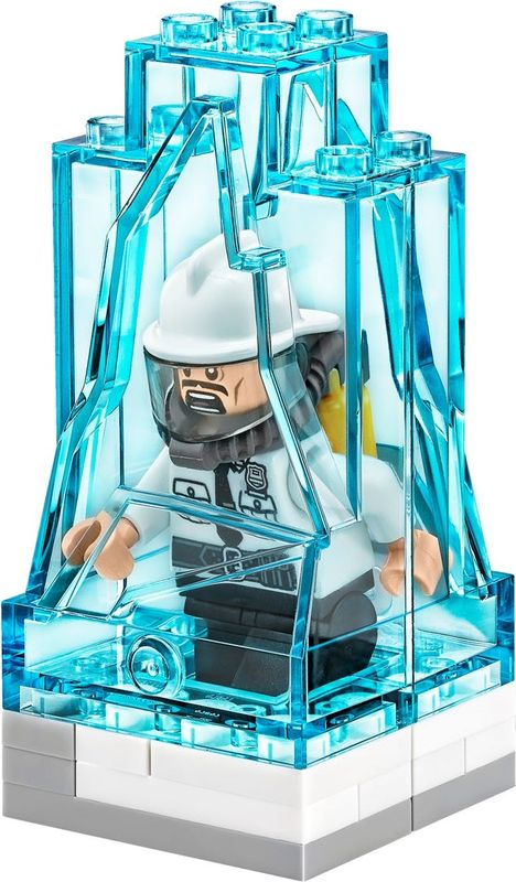 Mr. Freeze™ Ice Attack components