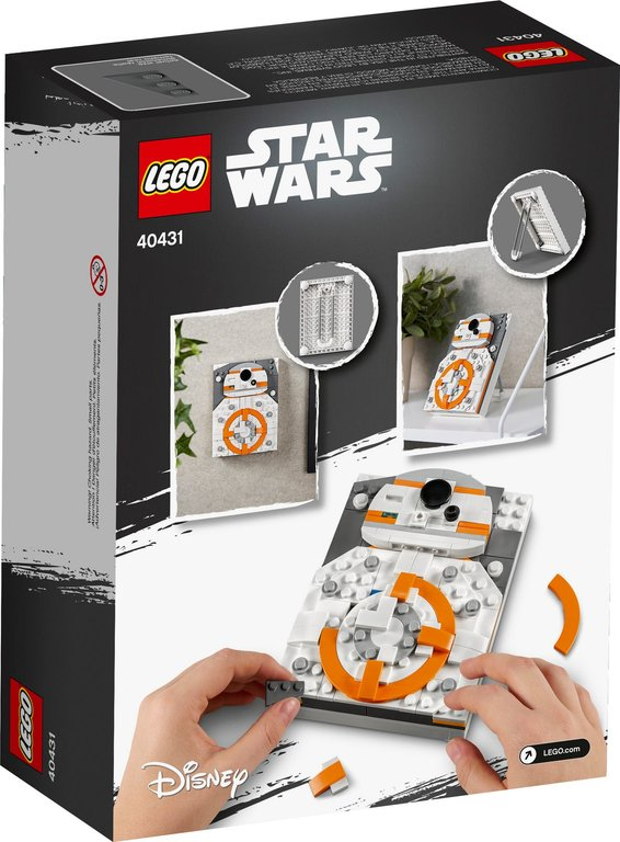 LEGO® Brick Sketches™ BB-8™ back of the box