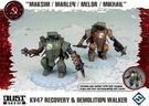 "Dust Tactics: KV47 Recovery & Demolition Walker - ""Maksim / Marlen / Melor / Mikhail"""