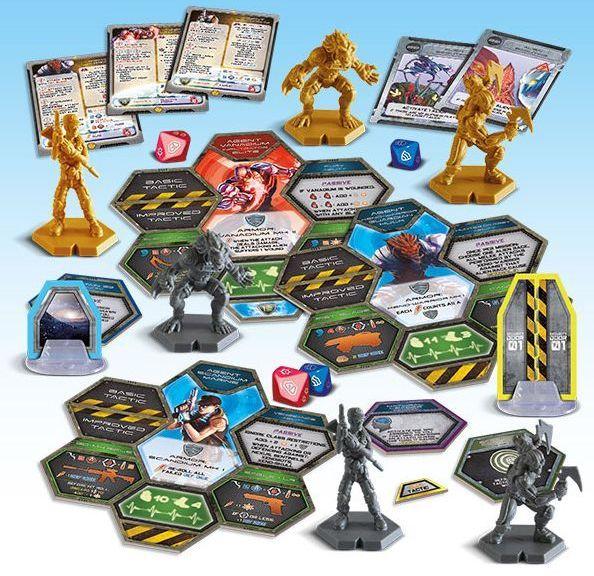 Galaxy Defenders: Final Countdown components