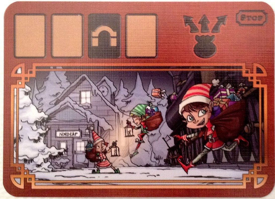 Brettspiel Adventskalender 2015 components