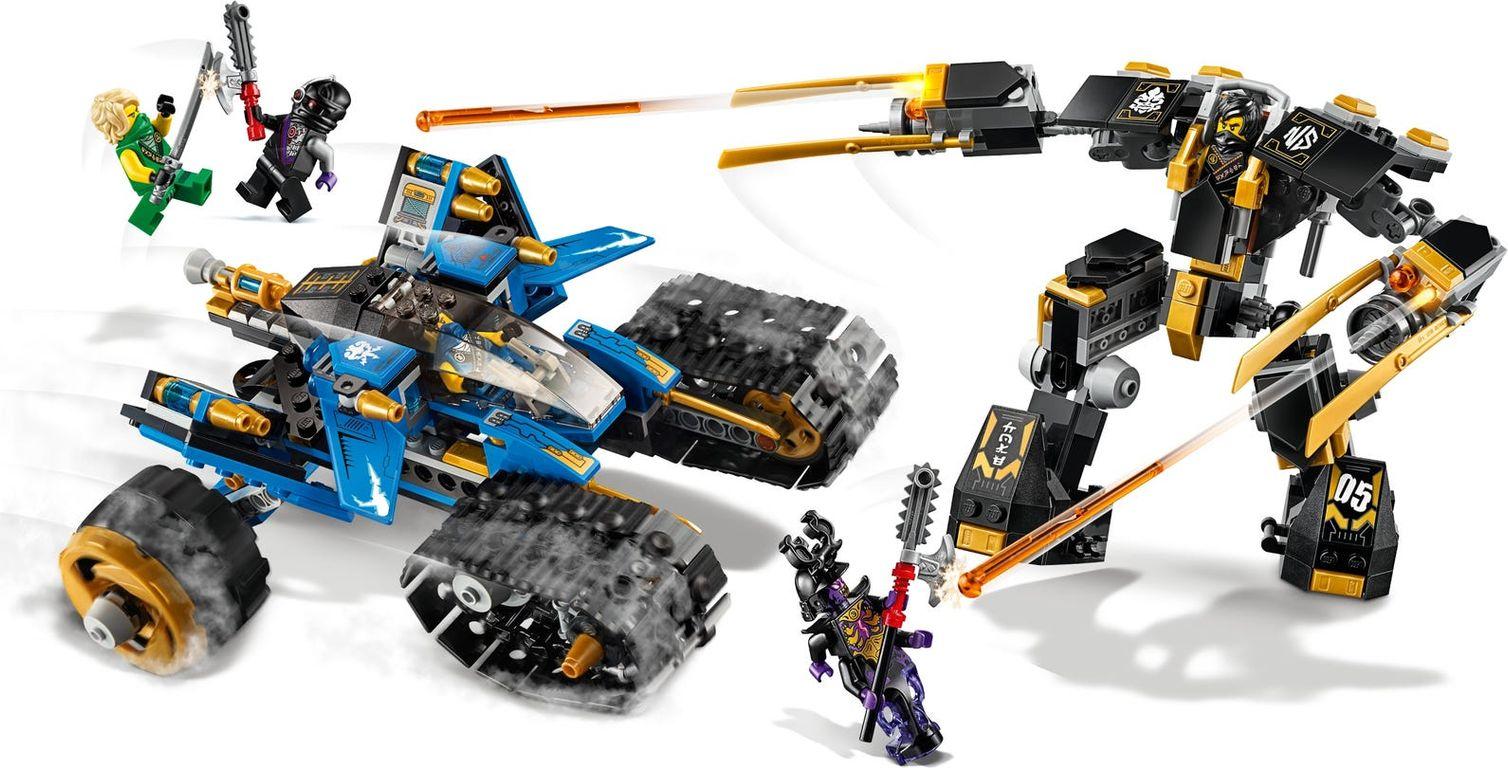 LEGO® Ninjago Thunder Raider gameplay