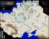 The Dark Valley game board
