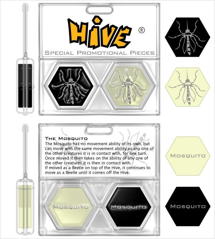 Hive: The Mosquito back of the box