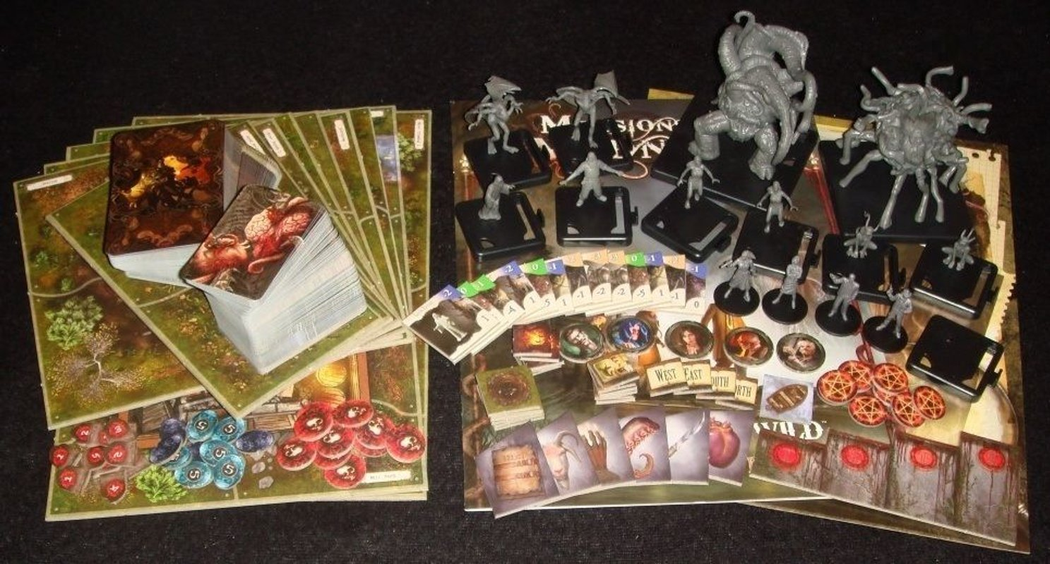 Mansions of Madness: Call of the Wild components
