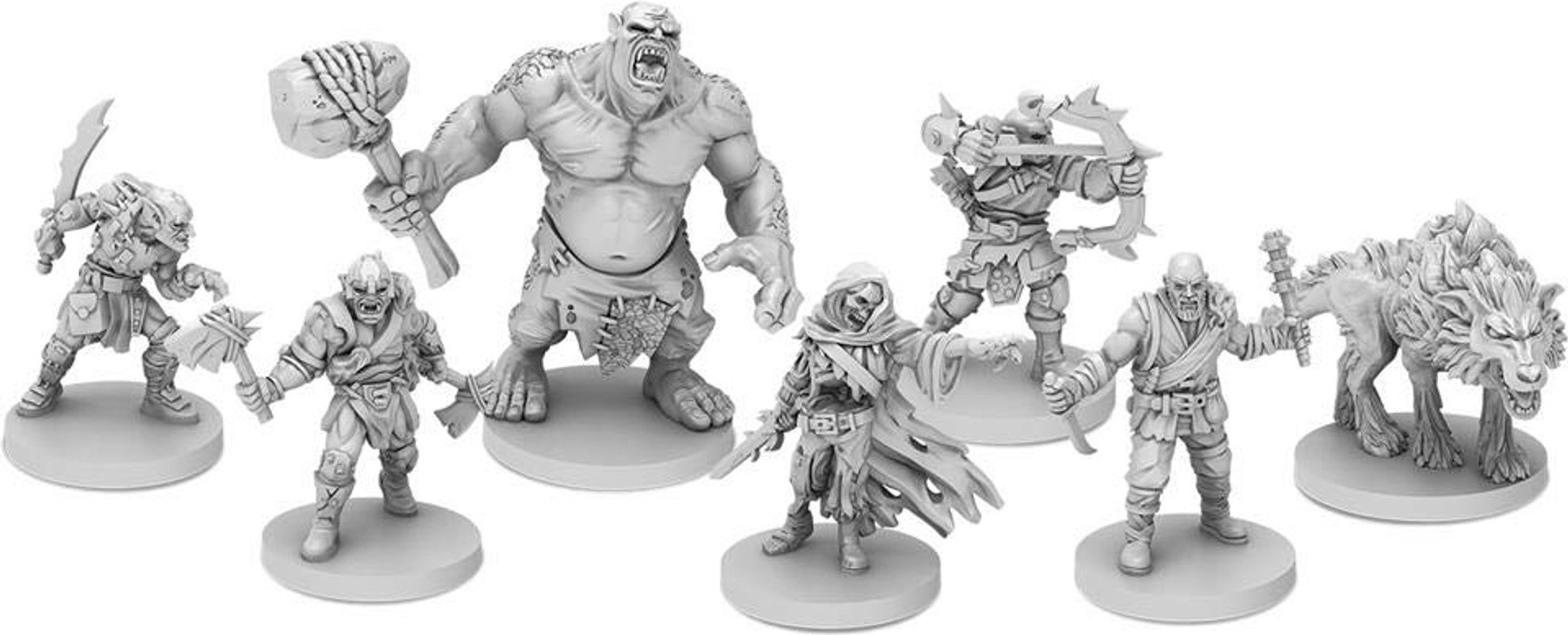 The Lord of the Rings: Journeys in Middle-earth miniatures