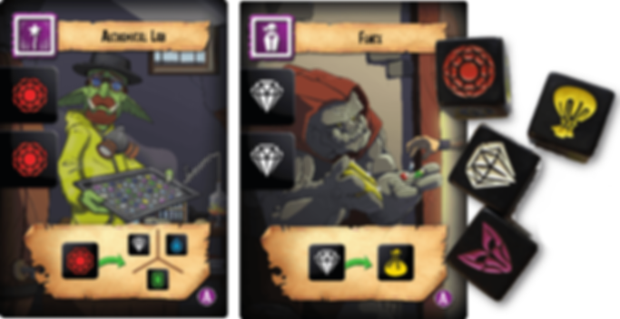 Thief's Market components