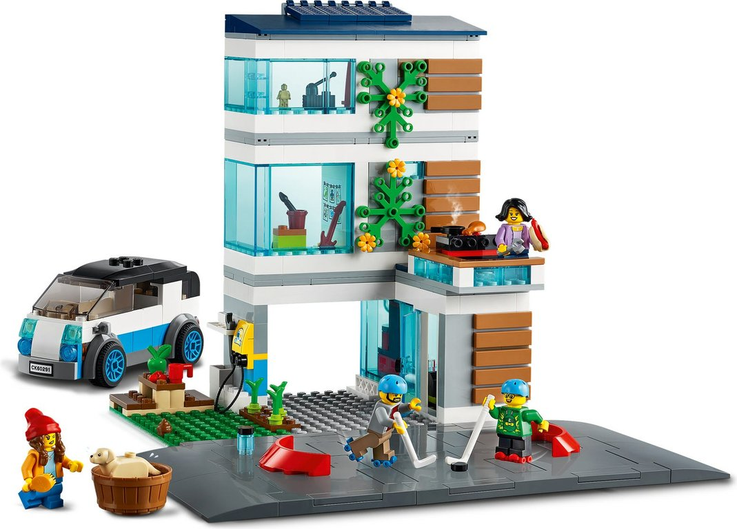 LEGO® City Family House components