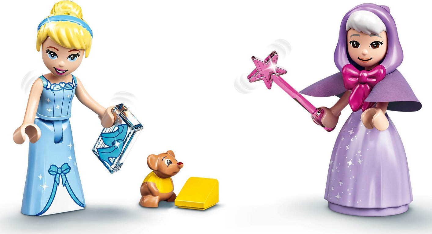 LEGO® Disney Cinderella's Royal Carriage minifigures