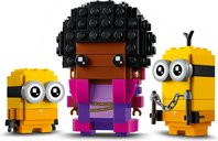LEGO® BrickHeadz™ Belle Bottom, Kevin and Bob components