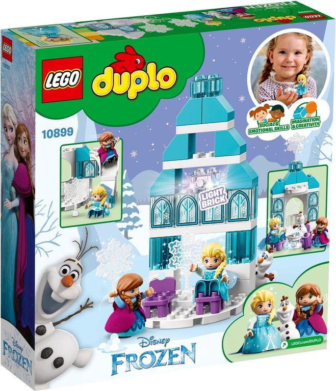 LEGO® DUPLO® Frozen Ice Castle back of the box