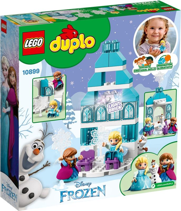 Frozen Ice Castle back of the box