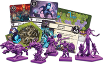 BattleLore (Second Edition):  Terrors of the Mists Army Pack components
