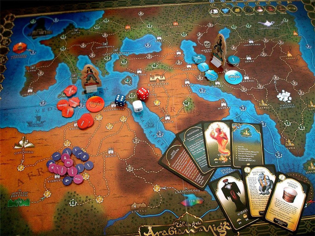 Tales of the Arabian Nights components