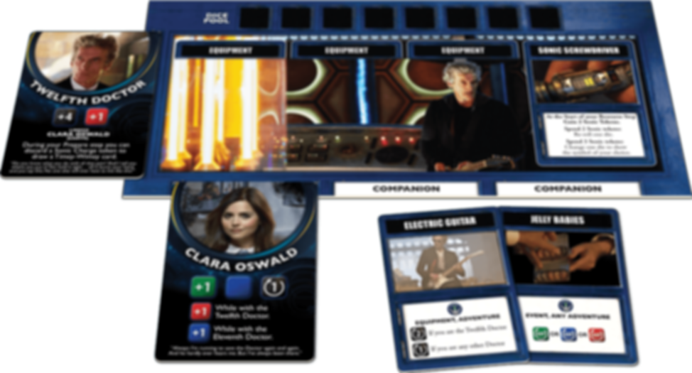 Doctor Who: Time of the Daleks components