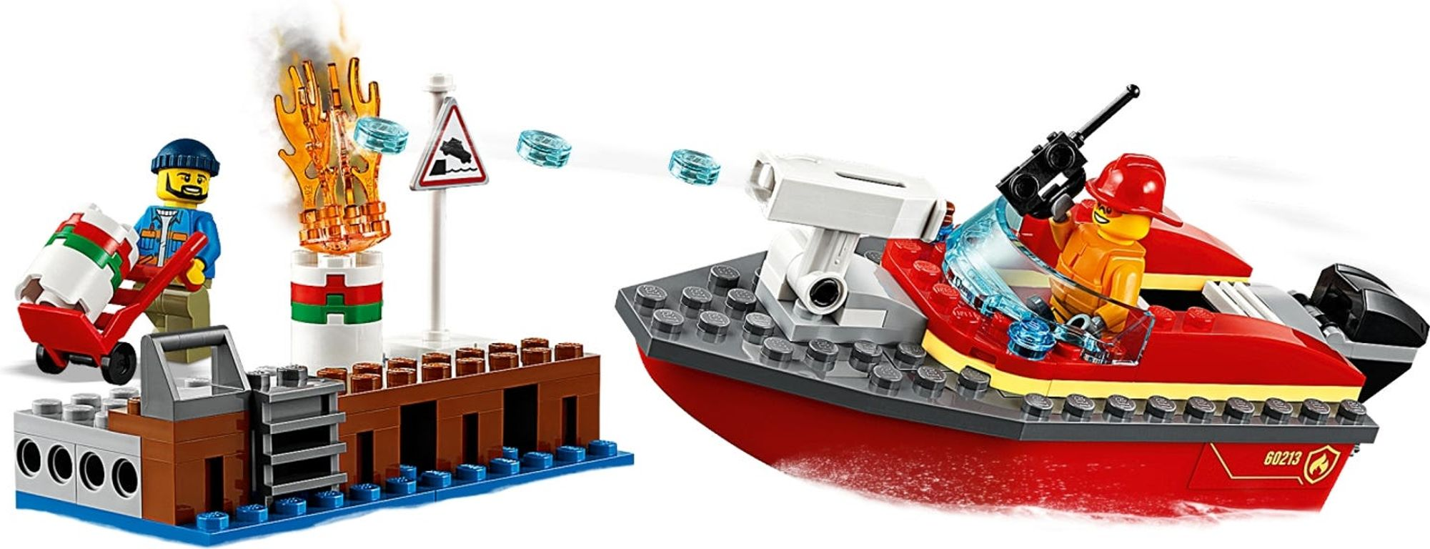 LEGO® City Dock Side Fire gameplay