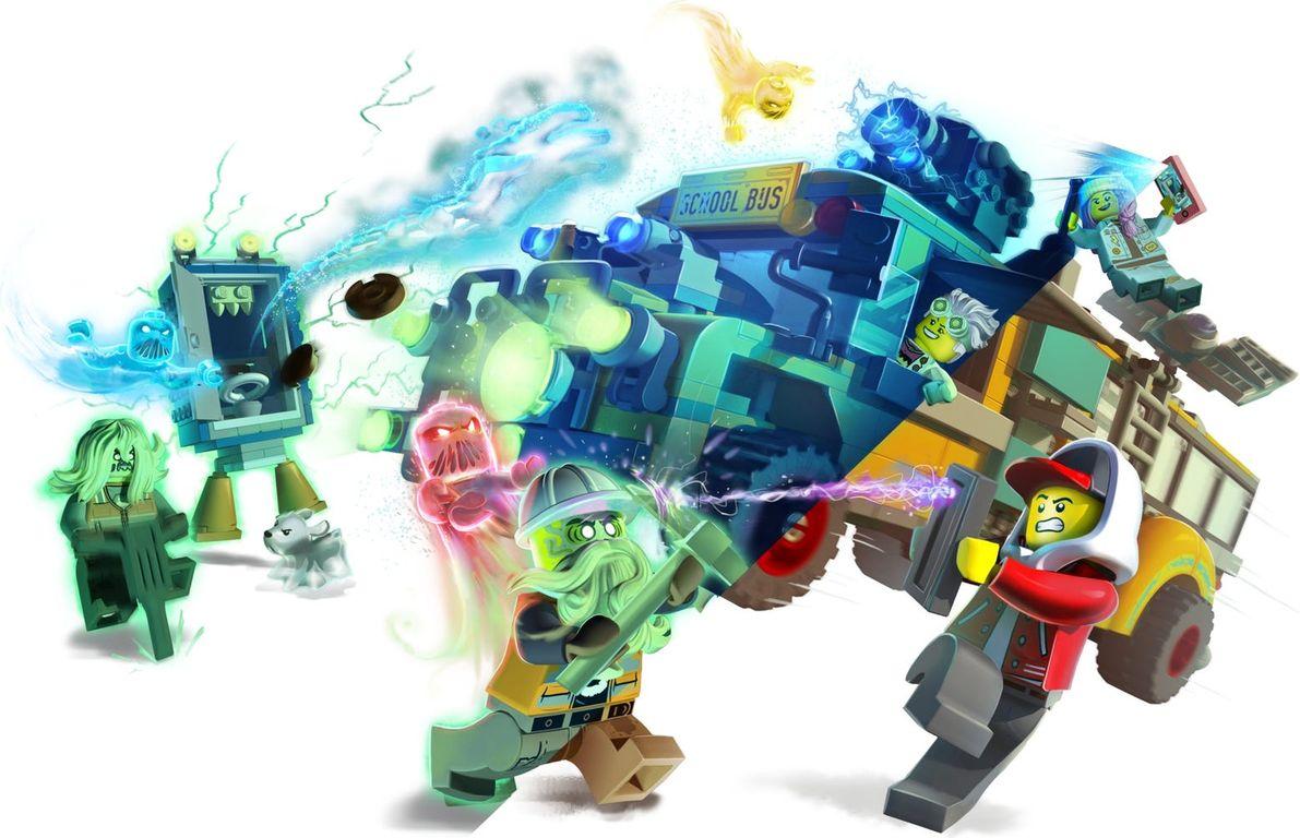LEGO® Hidden Side Paranormal Intercept Bus 3000 gameplay