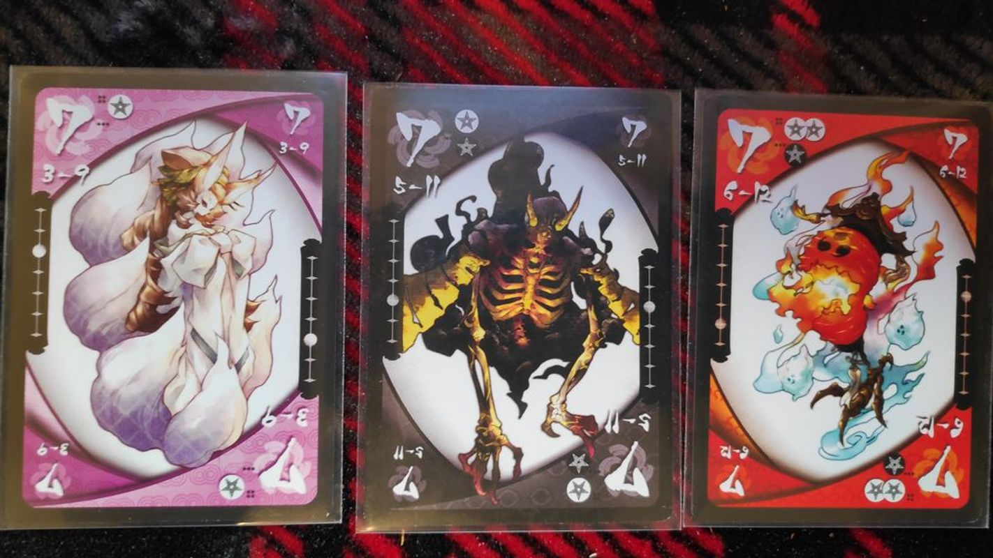 Yokai Septet cards