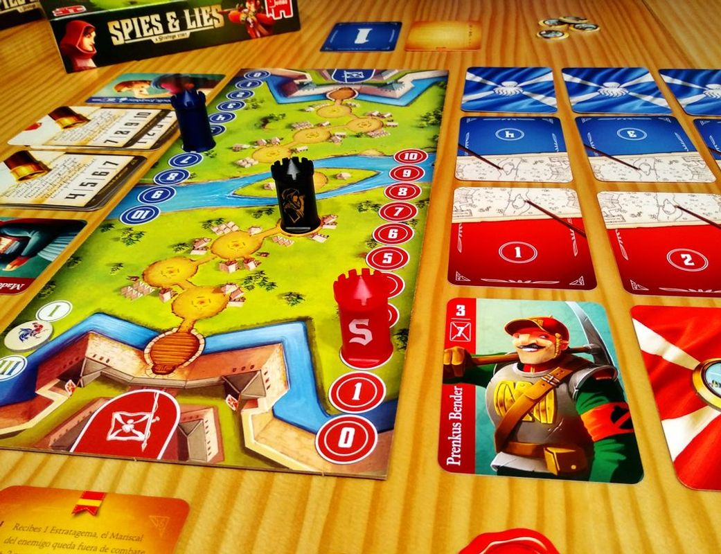 Spies & Lies: A Stratego Story gameplay