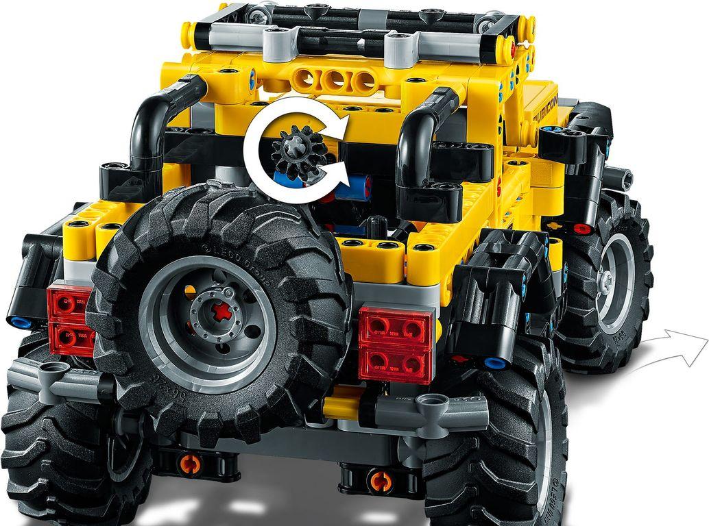 Jeep® Wrangler back side