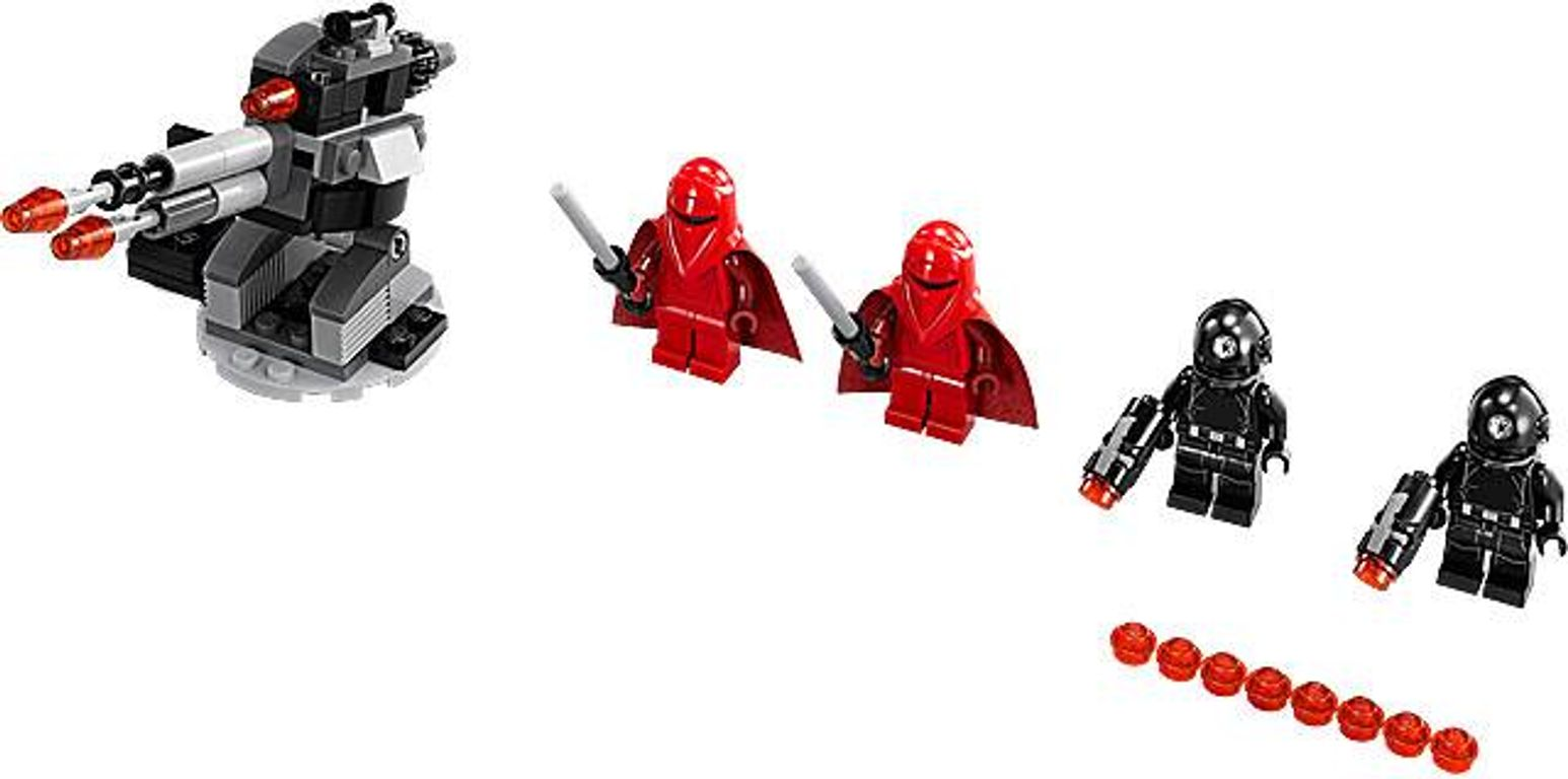 LEGO® Star Wars Death Star Troopers components