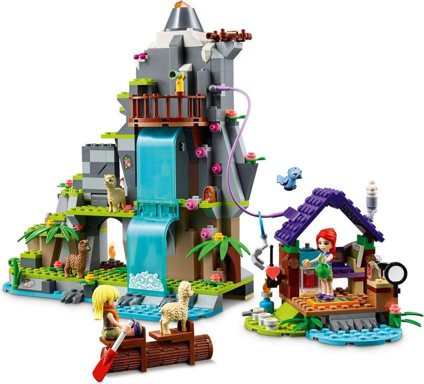 LEGO® Friends Alpaca Mountain Jungle Rescue components