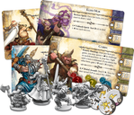 Runebound (Third Edition) components