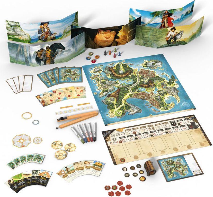 Treasure Island components