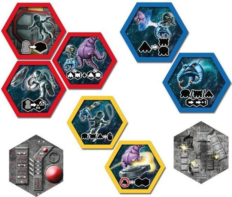 Survive: Space Attack! components