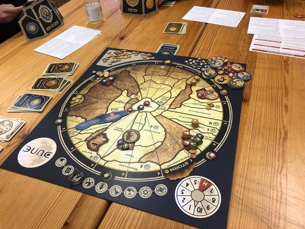DUNE game board