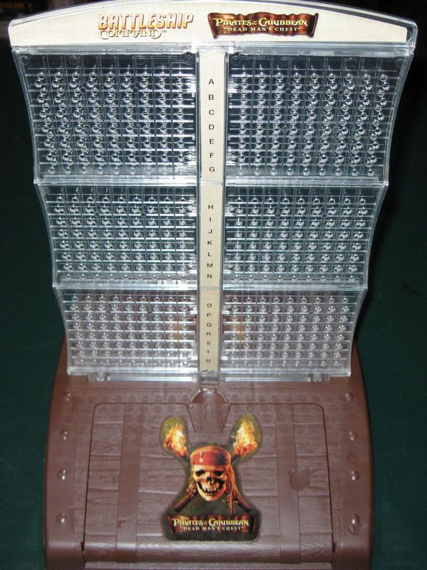 Battleship Command: Pirates of the Caribbean components