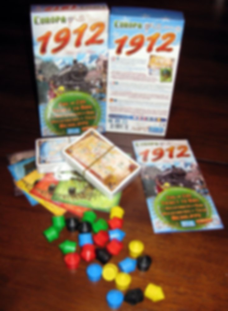 Ticket to Ride: Europa 1912 components