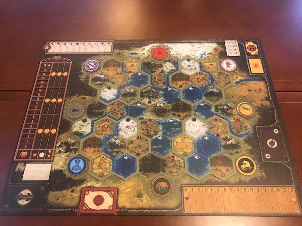 Scythe: Modular Board game board