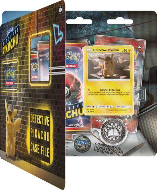Pokemon Detective Pikachu Boosterblister box