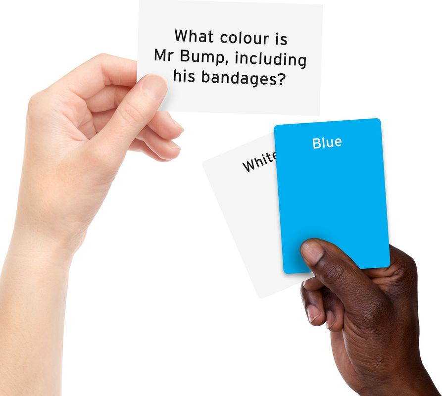 Colour brain cards
