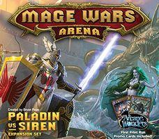 Mage Wars Arena: Paladin vs Siren Expansion Set