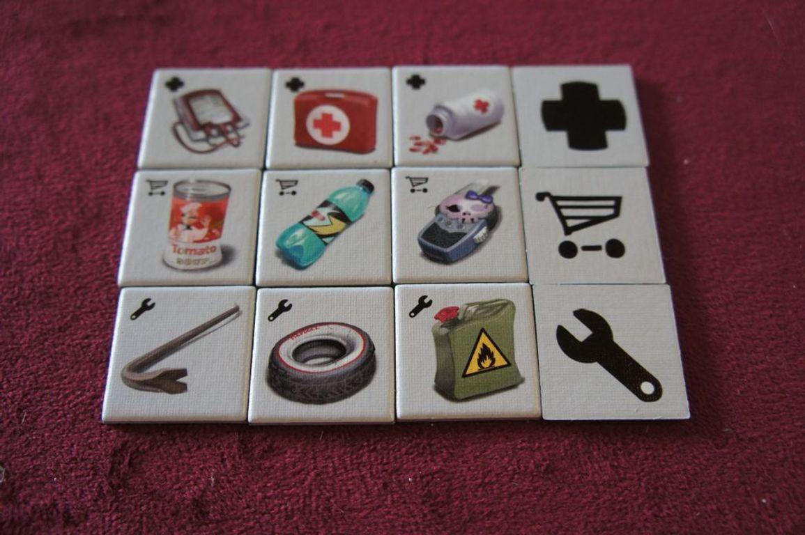 Escape: Zombie City tiles