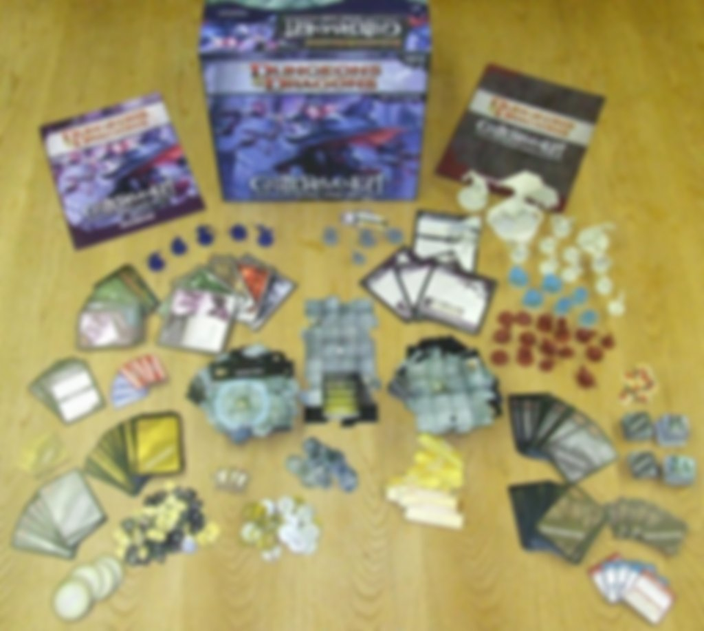 Castle Ravenloft: A Dungeons and Dragons Boardgame components