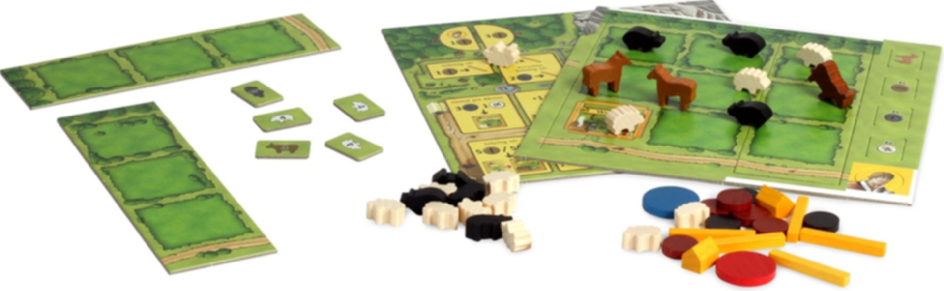 Agricola: All Creatures Big and Small components